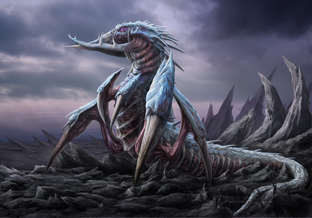 RIFT Contest - Undead Wyrm by Heliofob