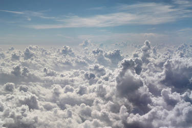 Above the Clouds by Denise-Rowlands