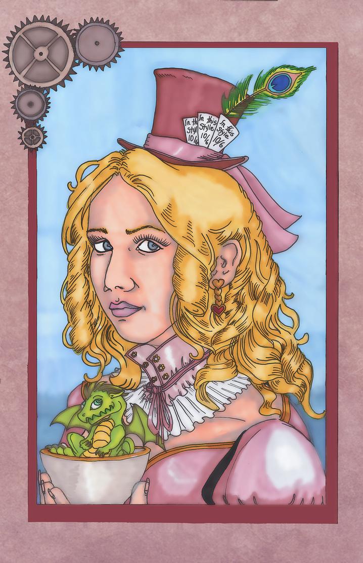 Steampunk Matilda by Syreene