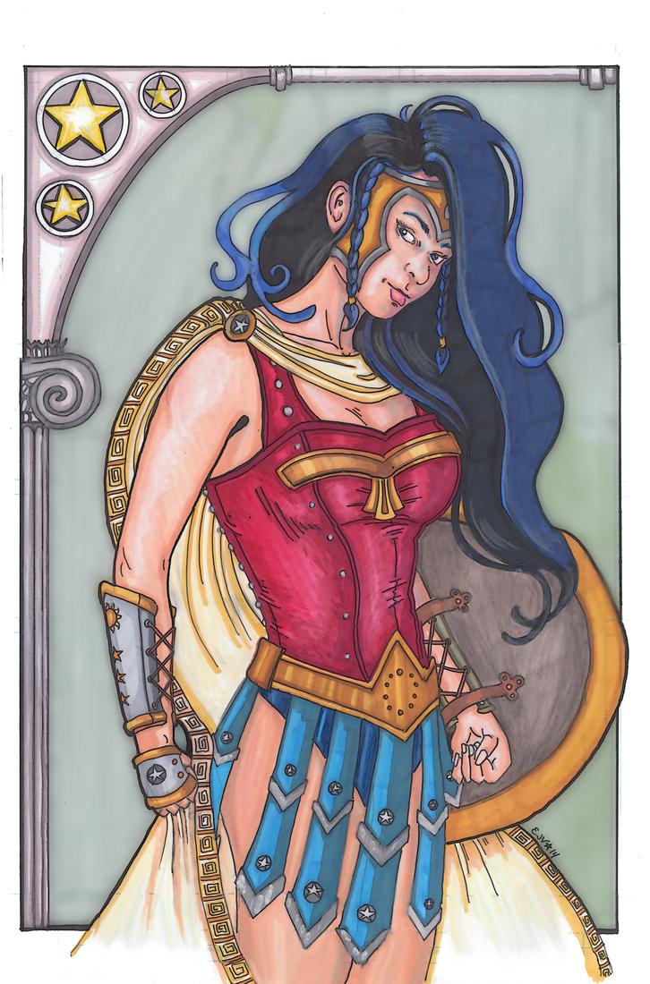 Wonder Woman by Syreene