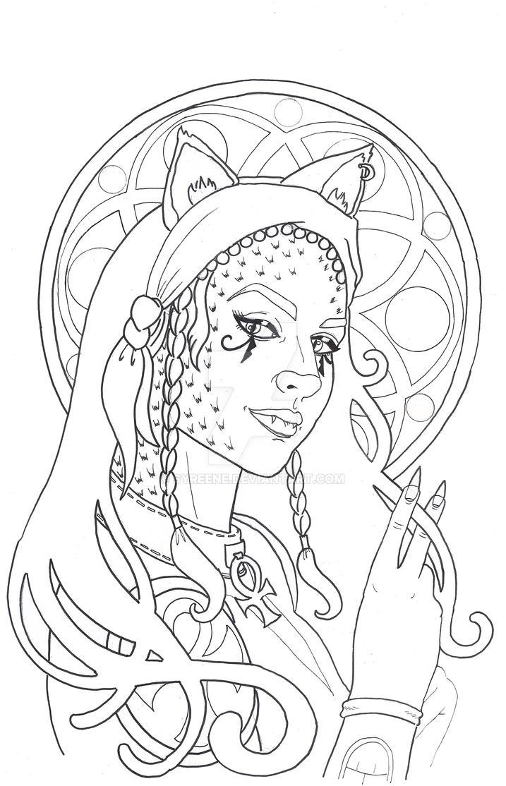 Kenari Tattoo by Syreene