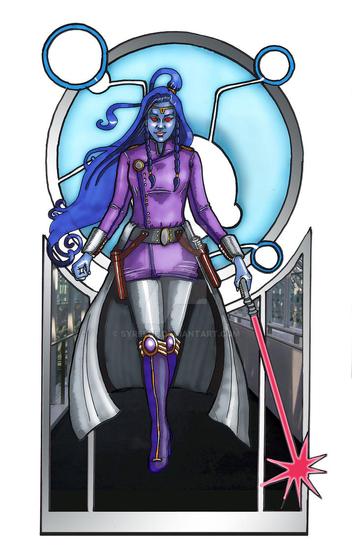 Persephonea the Sith Warrior by Syreene