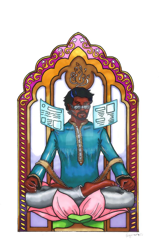 Scion of Ganesha by Syreene
