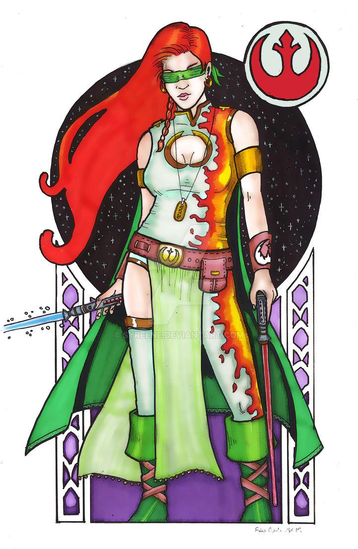 Alyssa Fireblade by Syreene