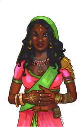 Djinn Sorceress