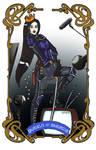 Spelljoined Tarot - The Queen of Swords