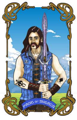 Spelljoined Tarot - Page of Swords