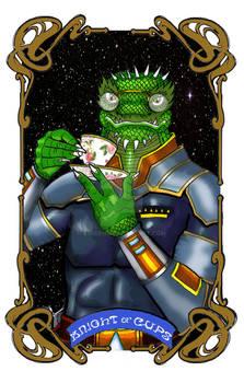 Spelljoined Tarot - The Knight of Cups