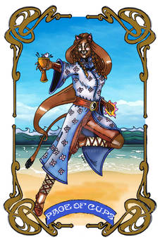 Spelljoined Tarot - The Page of Cups