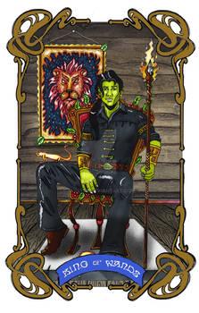 Spelljoined Tarot - The King of Wands