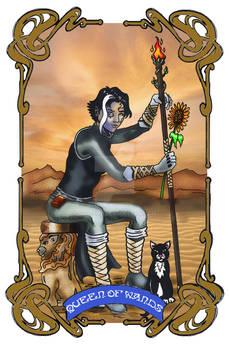 Spelljoined Tarot - The Queen of Wands