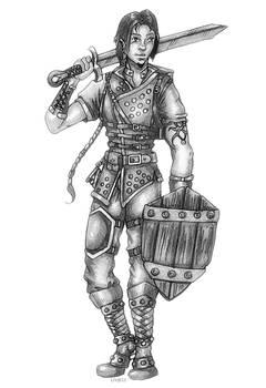 Male Half-Elf Ranger