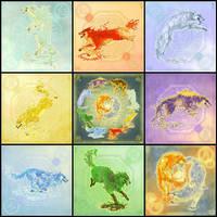 earths wolves by LittleBelle