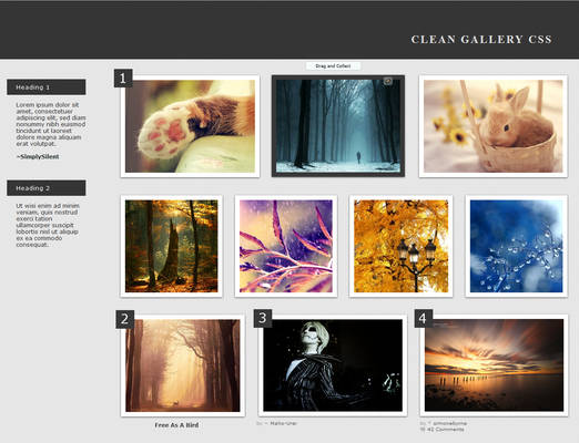 Clean Gallery CSS v.3