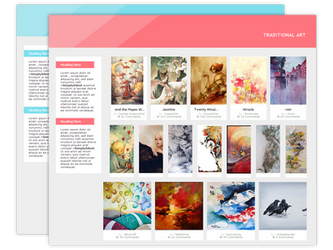 Vivacious Gallery CSS by SimplySilent