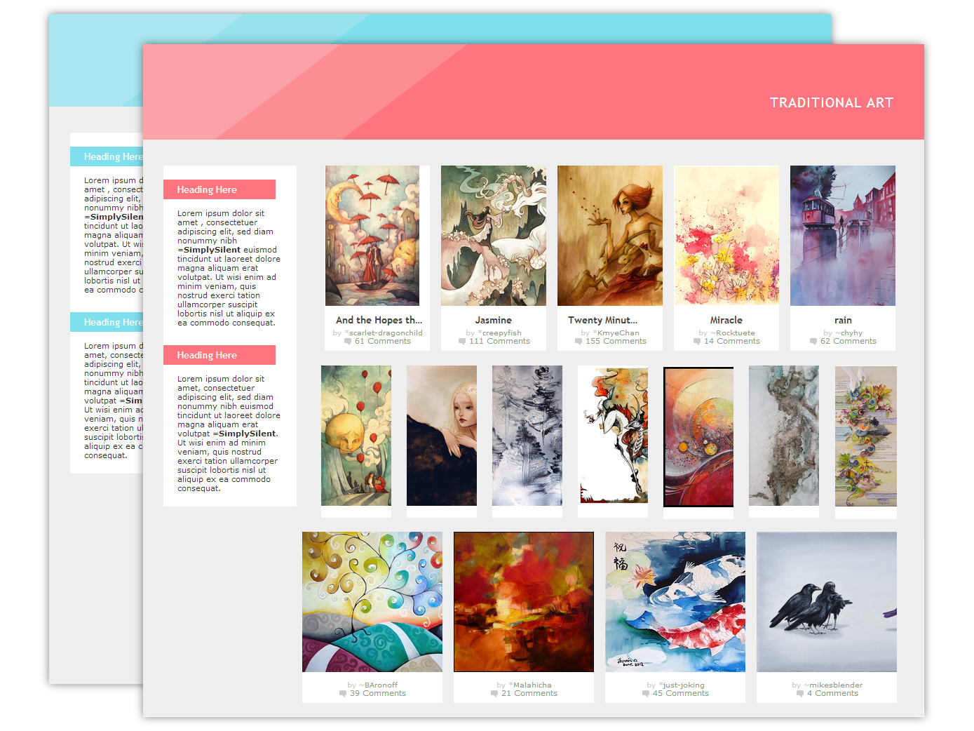 Vivacious Gallery CSS by SimplySilent Vivacious Gallery CSS by SimplySilent