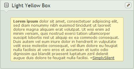 Light Yellow Box by SimplySilent