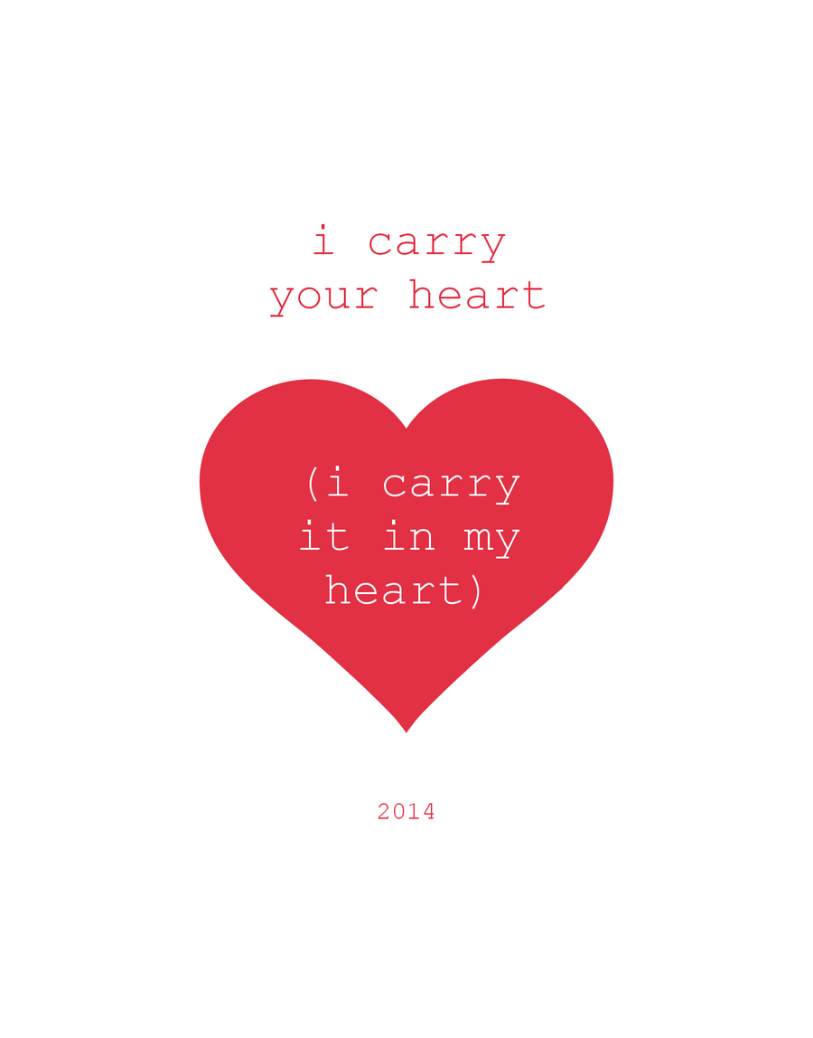 i carry your heart by SimplySilent