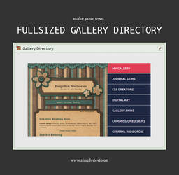 Fullsized Gallery Directory by SimplySilent
