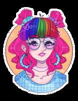 Jillian (pixielocks) Fanart by KawaiiPoppy