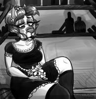 Sad Maid by BeastOfEuthanasia
