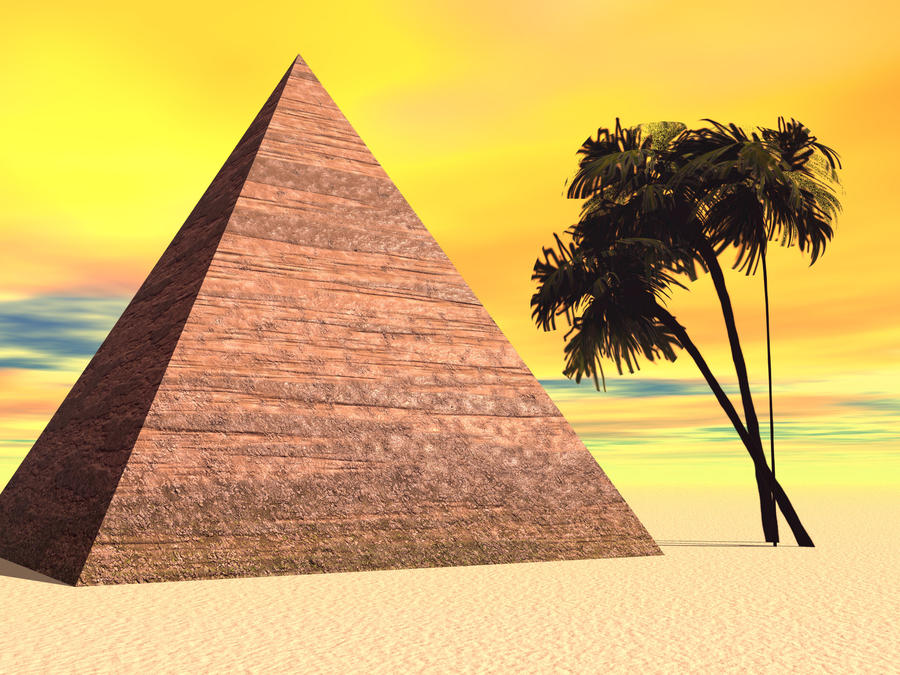 pyramid background-#32