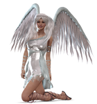 Angel Kneeling PNG