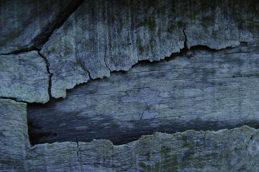 Blue Wood Cracks 9 by Variety-Stock
