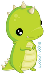 little t-rex. by sugarunicorn