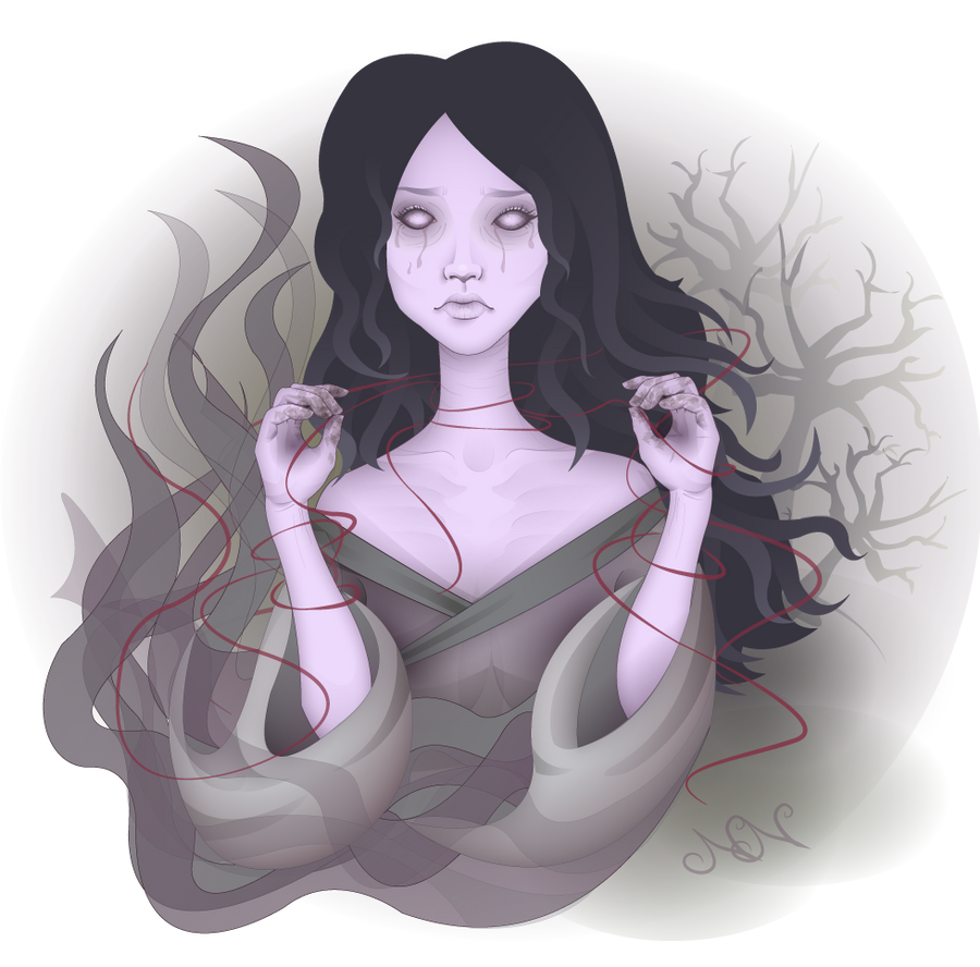 Yurei by sugarunicorn