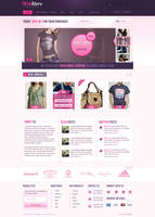 WebStore PSD Template by SyloGraphix