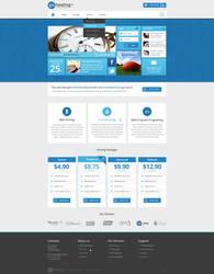 GoHosting Homepage Design - Metro Style