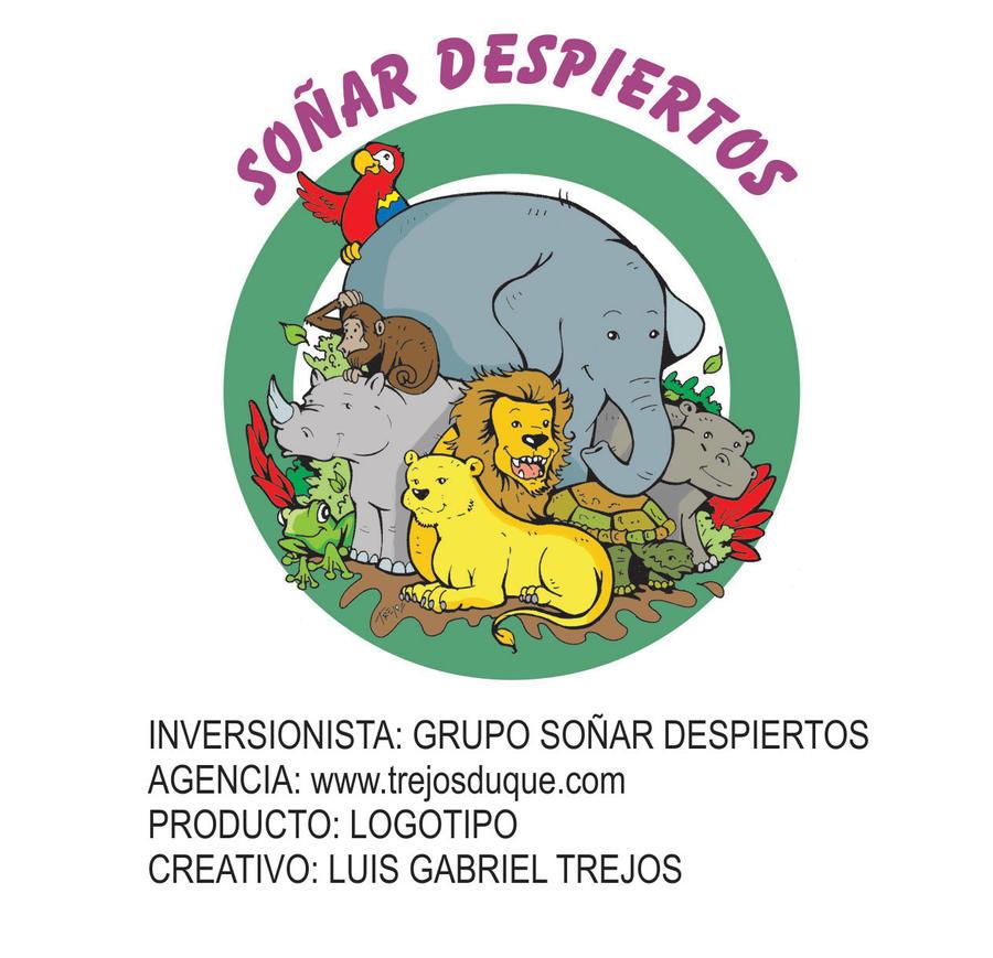 logo sonar despiertos by TREJOSCOMICS