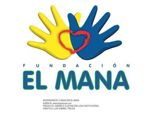 Fundacion El mana Logo trejos by TREJOSCOMICS