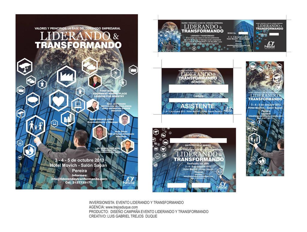 Campana Liderando Y Transformando by TREJOSCOMICS