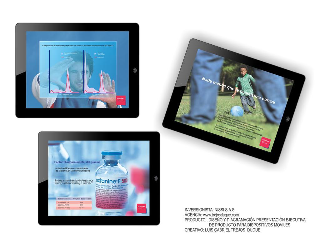 Presentacion Ipad Producto 2 - Luis Gabriel Tr by TREJOSCOMICS