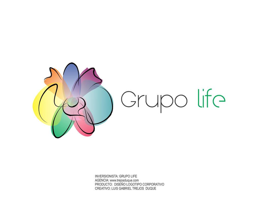 Logo Grupo Life Luis Gabriel Trejos Duque by TREJOSCOMICS