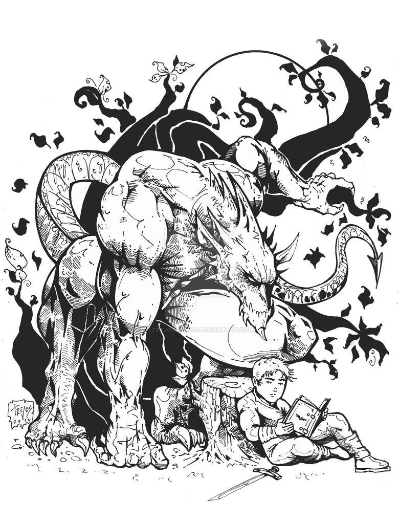 Demon Book - Luis Gabriel Trejos Duque by TREJOSCOMICS