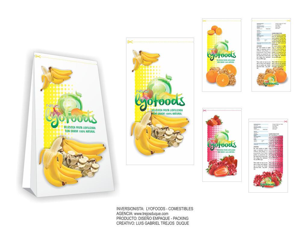 Lyofoods Packaging - Empaque - Luis Gabriel Trejos by TREJOSCOMICS