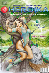 Luis Gabriel Trejos Duque - Heroika Comixrock Ilus by TREJOSCOMICS