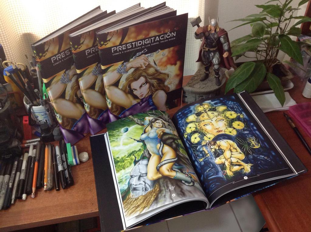 Ilusiones - Libro - Gabriel Trejos Duque by TREJOSCOMICS