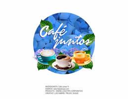 Cafe Juntos - Logo - luis gabriel trejos duque