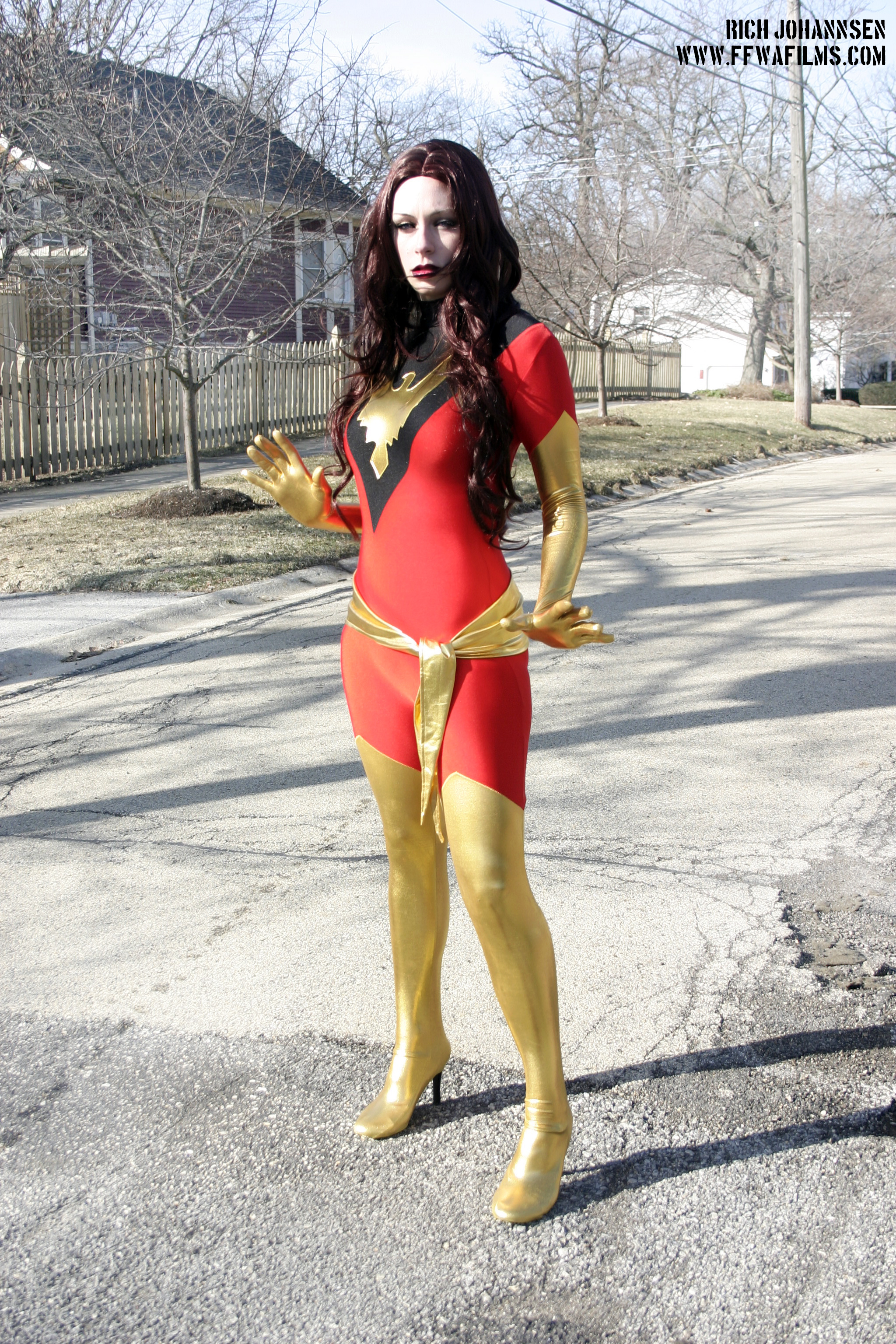 Dark Phoenix by screaM4Dolls