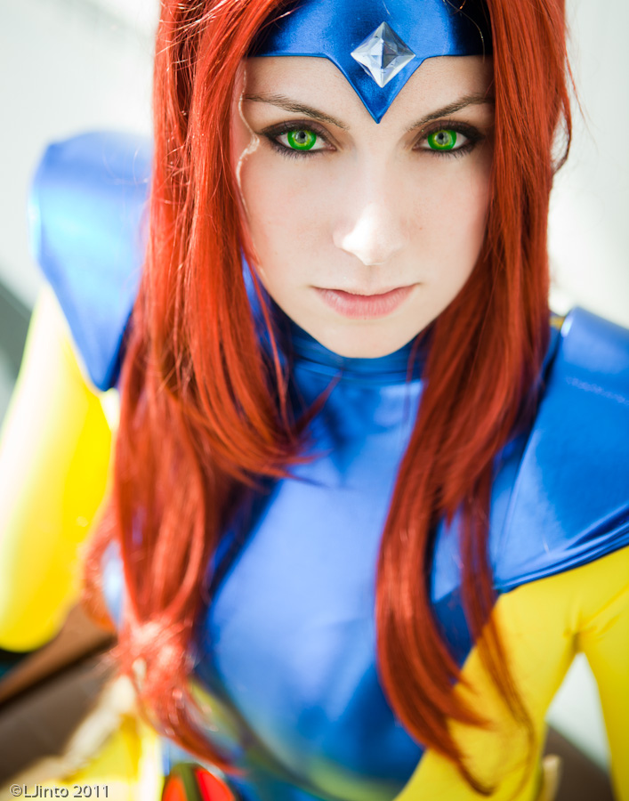 My Jean Grey Costume by screaM4Dolls