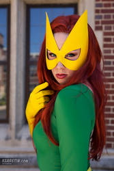 Kearstin as Marvel Girl (Cosplay Headshot) by screaM4Dolls