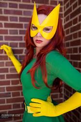 Kearstin as Marvel Girl (Cosplay) 2 by screaM4Dolls