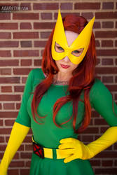 Kearstin as Marvel Girl (Cosplay) 3 by screaM4Dolls