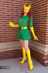 Kearstin as Marvel Girl (Cosplay) by screaM4Dolls
