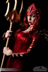 Red Lantern Mera Cosplay by Kearstin by screaM4Dolls