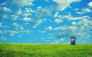 TARDIS Wallpaper by Nekoknight